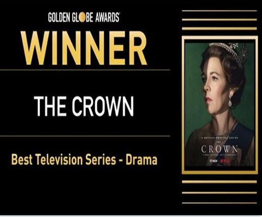 Netflix s series The Crown wins Golden Globe Awards 2021 see full winner list