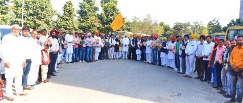 Vidhan sabha round for joined the Akali leader