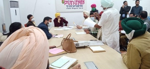 Meeting in chandigarh
