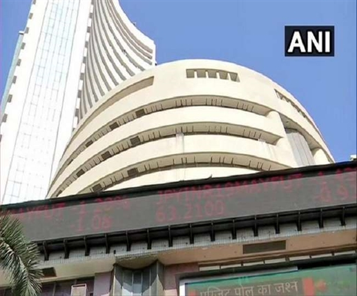 sensex closes with a massive gain of 629 points banking it companies stocks up