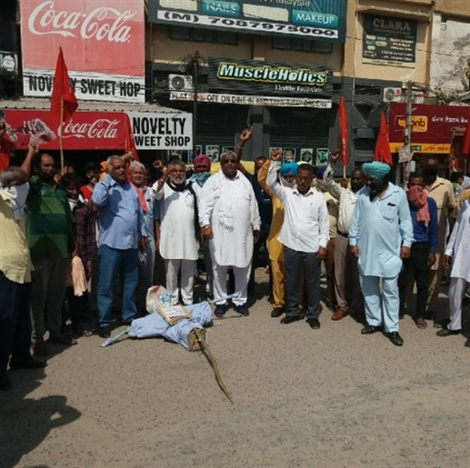Protest against gang rape of hathras and balrampur