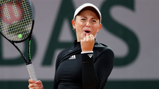 Yelena defeated Pliskova in the third round of the French Open