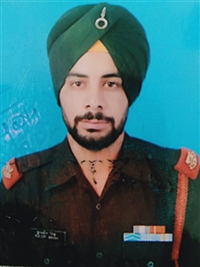 Kuldeep Singh martyred in Naugam sector of Jammu and Kashmir