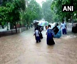 Mumbai Rains: ਮੁੰਬਈ 'ਤੇ ਕਹਿਰ ਬਣ ਵਰ੍ਹ ਰਿਹੈ ਮੌਨਸੂਨ, ਹਾਈ ਟਾਈਡ ਅਲਰਟ ਜਾਰੀ