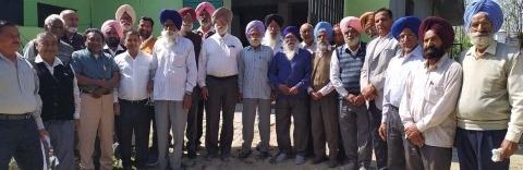 pensioners meeting