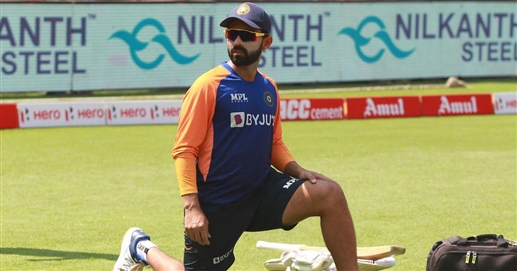 Welcome back to England on the spin pitch says Rahane