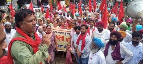 Rally by Mazdoor Mukti Morcha over youth death case