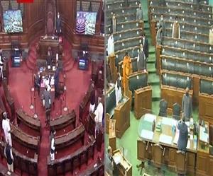 Live Parliament Session: ਰਾਜਸਭਾ ਮੁਲਤਵੀ, ਵਿਰੋਧੀ ਧਿਰ ਨੇ ਕਿਸਾਨ ਅੰਦੋਲਨ 'ਤੇ ਕੇਂਦਰ ਨੂੰ ਘੇਰਿਆ, ਸਰਕਾਰ ਨੇ ਕੀਤਾ ਬਚਾਅ