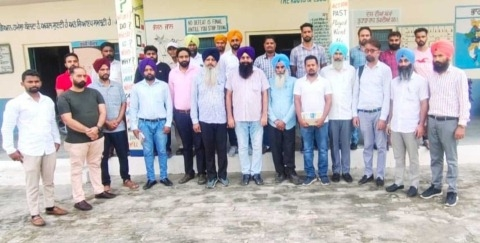 Old Pension Restoration Struggle Committee Block Nihal Singh Wala formed