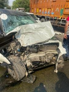 Accident : ਭਿਆਨਕ ਸੜਕ ਹਾਦਸੇ 'ਚ ਕਾਰ ਸਵਾਰ ਨੌਜਵਾਨ ਦੀ ਮੌਤ