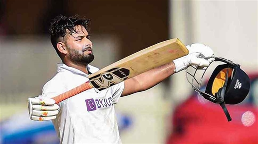 Rishabh Pant made history by finishing sixth in the ICC Test rankings