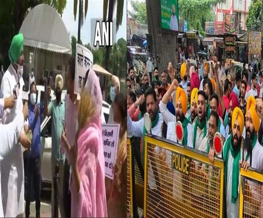 Clashes outside Parliament in Delhi Akali Dal besieges Youth Congress office in Ludhiana