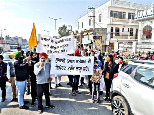 agitation by farmers
