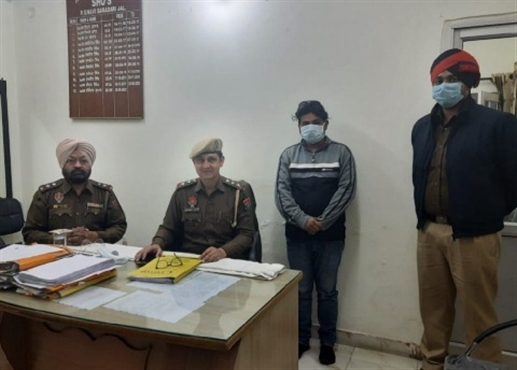 one arrested in snaching
