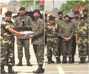 Eid Mubarak: ਸਾਰੇ ਦੇਸ਼ 'ਚ ਮਨਾਈ ਜਾ ਰਹੀ ਈਦ, ਵਾਹਗਾ ਬਾਰਡਰ 'ਤੇ BSF ਨੇ ਦਿੱਤੀ ਪਾਕਿ ਜਵਾਨਾਂ ਨੂੰ ਮਠਿਆਈ