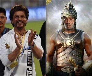 IPL 2019 : KKR ਦੀ ਜਿੱਤ ਤੋਂ ਬੇਹੱਦ ਖੁਸ਼ ਕਿੰਗ ਖਾਨ, ਫੋਟੋ ਸ਼ੇਅਰ ਕਰ ਕੇ ਕਿਹਾ-'ਬਾਹੂਬਲੀ' ਹੈ ਰੇਲਸ!