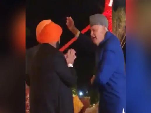 Farooq Abdullah dances at the wedding of Captain Amarinder Singh granddaughter watch video