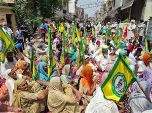 Farmer's Protest : ਅਹਿਮਦਗੜ੍ਹ 'ਚ ਭਾਜਪਾ ਆਗੂਆਂ ਦਾ ਕਿਸਾਨਾਂ ਨੇ ਕੀਤਾ ਘਿਰਾਓ