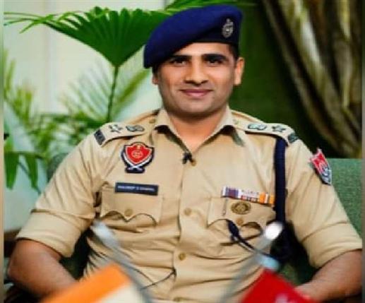 IPS Kuldeep Chahal name final for UT SSP post