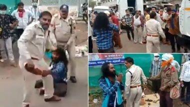 Granthi beast in Madhya Pradesh two policemen suspended