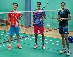 Returning to practice Indian badminton players Sindhu Praneet and Sikki started training after the Covid 19 break