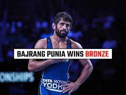 Tokyo Olympics 2020 : ਰੈਸਲਰ ਬਜਰੰਗ ਪੂਨੀਆ ਨੇ ਜਿੱਤਿਆ Bronze Medal, ਭਾਰਤ ਦੇ ਨਾਂ ਹੋਏ 6 ਮੈਡਲ