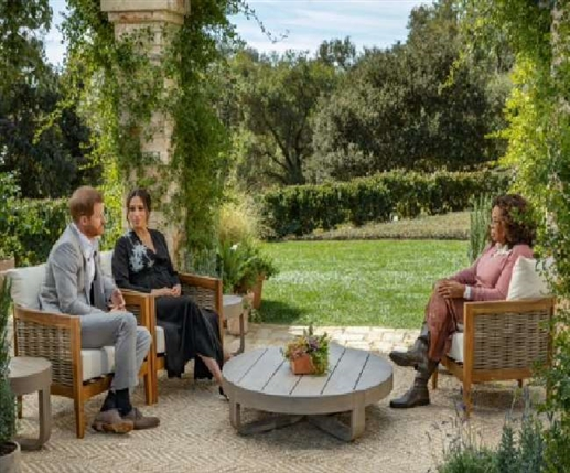 UK meghan markle prince harry interview with oprah winfrey revealed about royal family