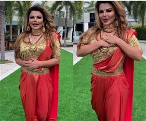 Indian Idol 12: ਦਿਲ ਫਡ਼ ਕੇ ਬੈਠ ਜਾਓ.., 'ਸ਼ੋਅ 'ਚ ਧਮਾਲ ਪਾਉਣ ਆ ਰਹੀ ਹੈ ਰਾਖੀ ਸਾਵੰਤ, ਸੈੱਟ ਤੋਂ ਸ਼ੇਅਰ ਕੀਤੀ ਵੀਡੀਓ