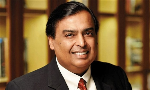 Mukesh Ambani became the fourth richest in the world