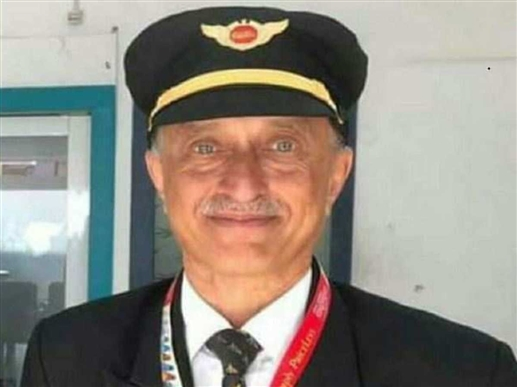 Captain Sathe wanted to give a surprise on his mother birthday