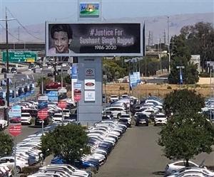 Sushant Singh Rajput Suicide: ਕੈਲੀਫੋਰਨੀਆ 'ਚ ਲੱਗੇ ਸੁਸ਼ਾਂਤ ਸਿੰਘ ਰਾਜਪੂਤ ਦੇ ਜਸਟਿਸ ਲਈ ਬੋਰਡ, ਭੈਣ ਨੇ ਸ਼ੇਅਰ ਕੀਤੇ ਵੀਡੀਓ