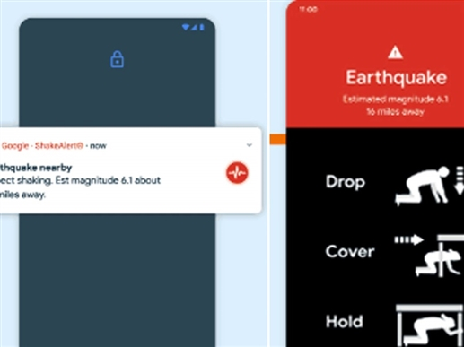 Tech news google introduced earthquake alert feature in many countries using android based earthquake detection technology
