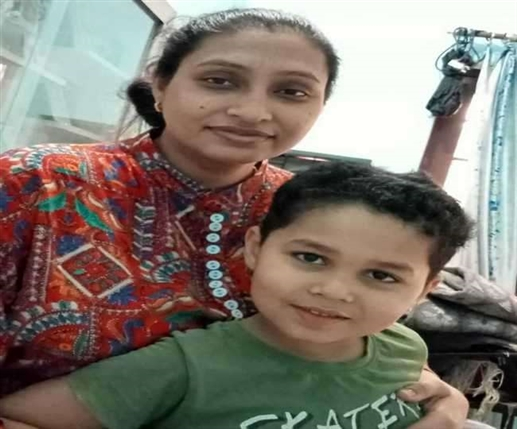 Civil Hospital Nurse kept 4 years old son 20 days away herself to save him from corona