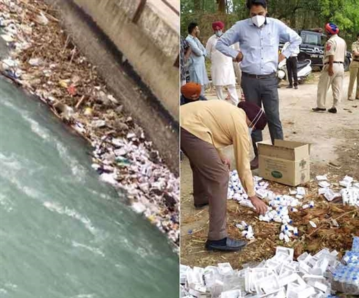 Remedesvir and Sapphrozone viol found flowing in Bhakra Canal links connected with UP