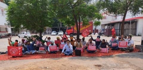 unemployed teachers protest dtf mobiletower patiala news punjabijagran