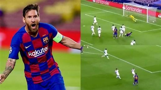barcelona into quarter finals