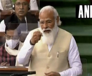PM Modi in Lok Sabha : ਲੋਕਸਭਾ 'ਚ ਪੀਐੱਮ ਮੋਦੀ ਬੋਲੇ- ਪਹਿਲੀ ਵਾਰ ਇਕ ਨਵਾਂ ਤਰਕ ਆਇਆ ਕਿ ਅਸੀਂ ਮੰਗਿਆ ਨਹੀਂ ਤਾਂ ਤੁਸੀਂ ਦਿੱਤਾ ਕਿਉਂ