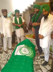 Farmer's Protest : ਦਿੱਲੀ ਅੰਦੋਲਨ ਤੋਂ ਪਰਤੇ ਪਿੰਡ ਬਰਸਟ ਦੇ ਕਿਸਾਨ ਦੀ ਮੌਤ