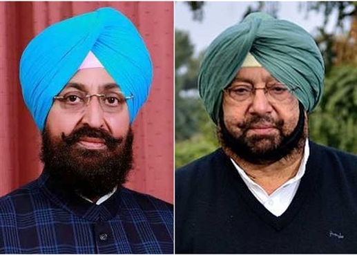 pratap singh bajwa aggressive on cm captain amarinder singh and  sunil jakhar
