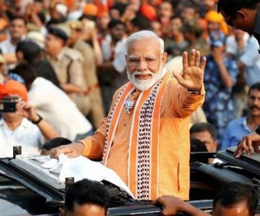 pm narendra modis rally in delhi election