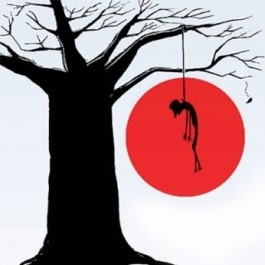 Debt ridden farmer takes last step commits suicide by hanging from tree by canal