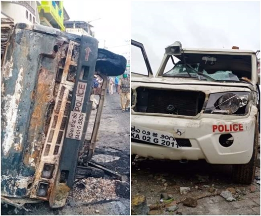 bengaluru violence 2 persons died and 60 police personnel sustained injuries