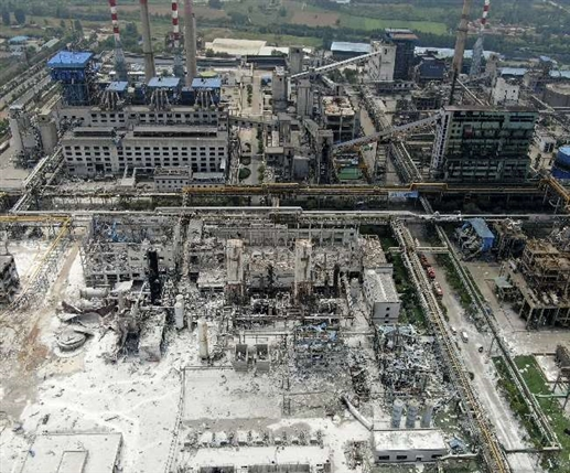 Big accident in China a terrible explosion in a gas pipe killed 11 people 37 seriously injured
