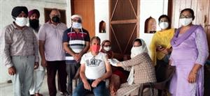 ਪਿੰਡ ਨੱਥੂਵਾਲਾ ਜਦੀਦ ਵਿਖੇ 350 ਵਿਅਕਤੀਆਂ ਨੇ ਲਗਵਾਈ ਕੋਰੋਨਾ ਵੈਕਸੀਨ
