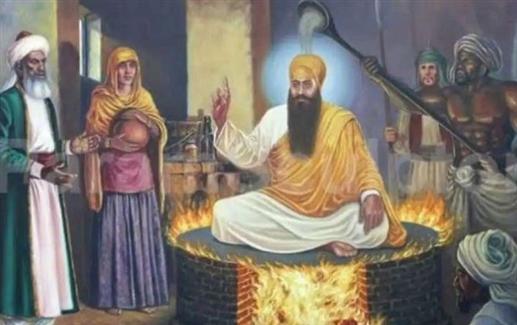 Guru Arjan Dev Ji Shaheedi Diwas Sirtaj Pancham Patshah of the martyrs