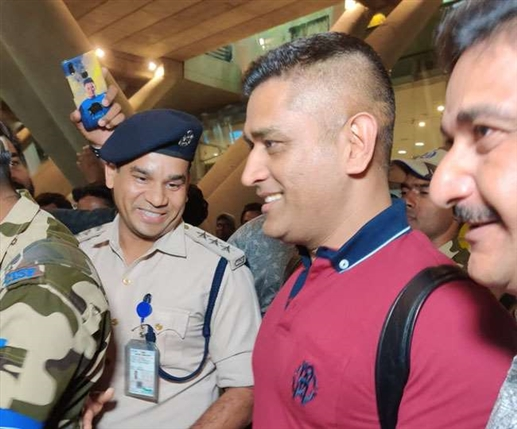 ms dhoni undergoes to covid 19 test befor ipl 2020