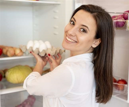 the disadvantages of keeping eggs in the refrigerator
