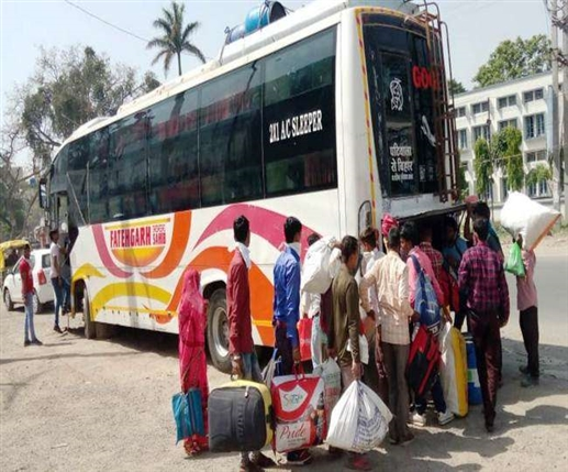 Fear of Lockdown Again  Migration of Migrant Workers from Mohali