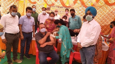corona vaccination camp muktasar