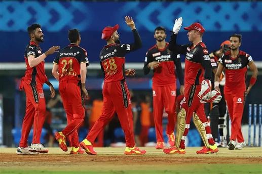 Royal Challengers Bangalore beat Sunrisers Hyderabad by 6 runs